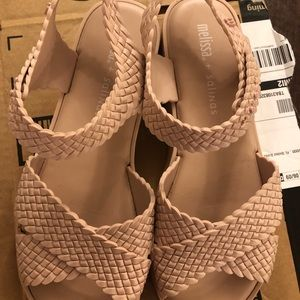 Melissa light pink/nude Sandals